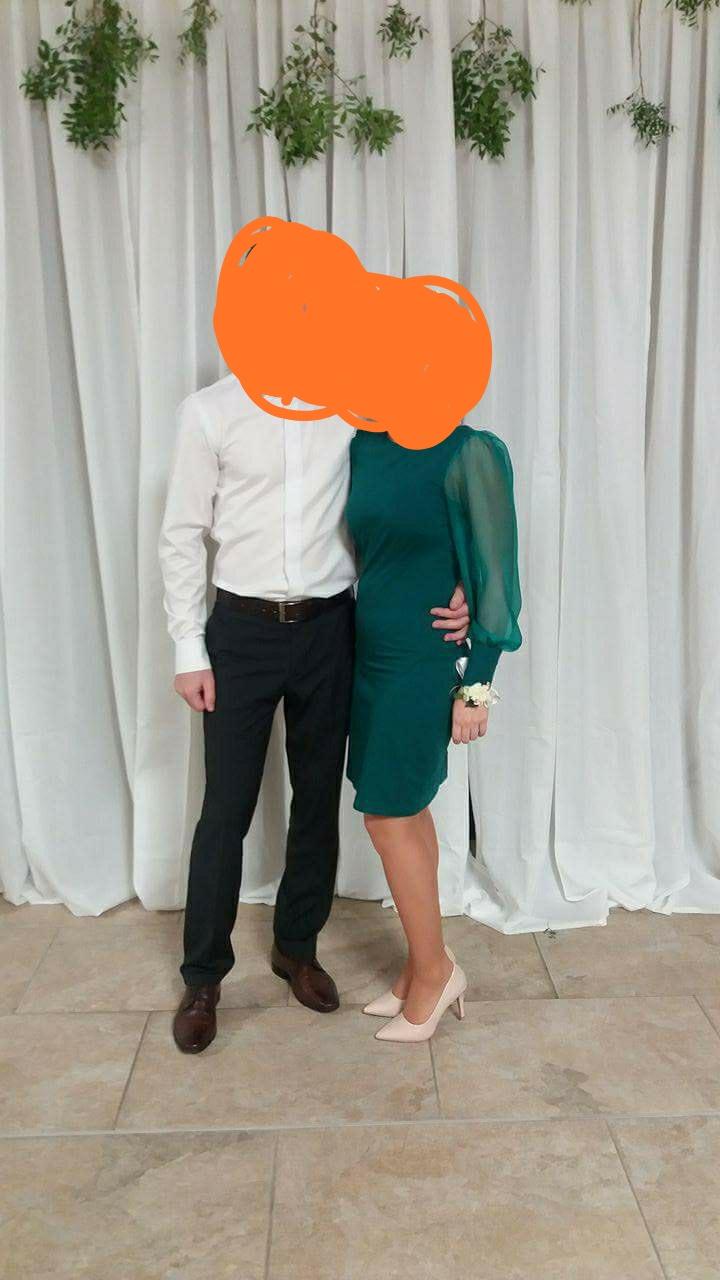 zelené šaty - Obrázok č. 1