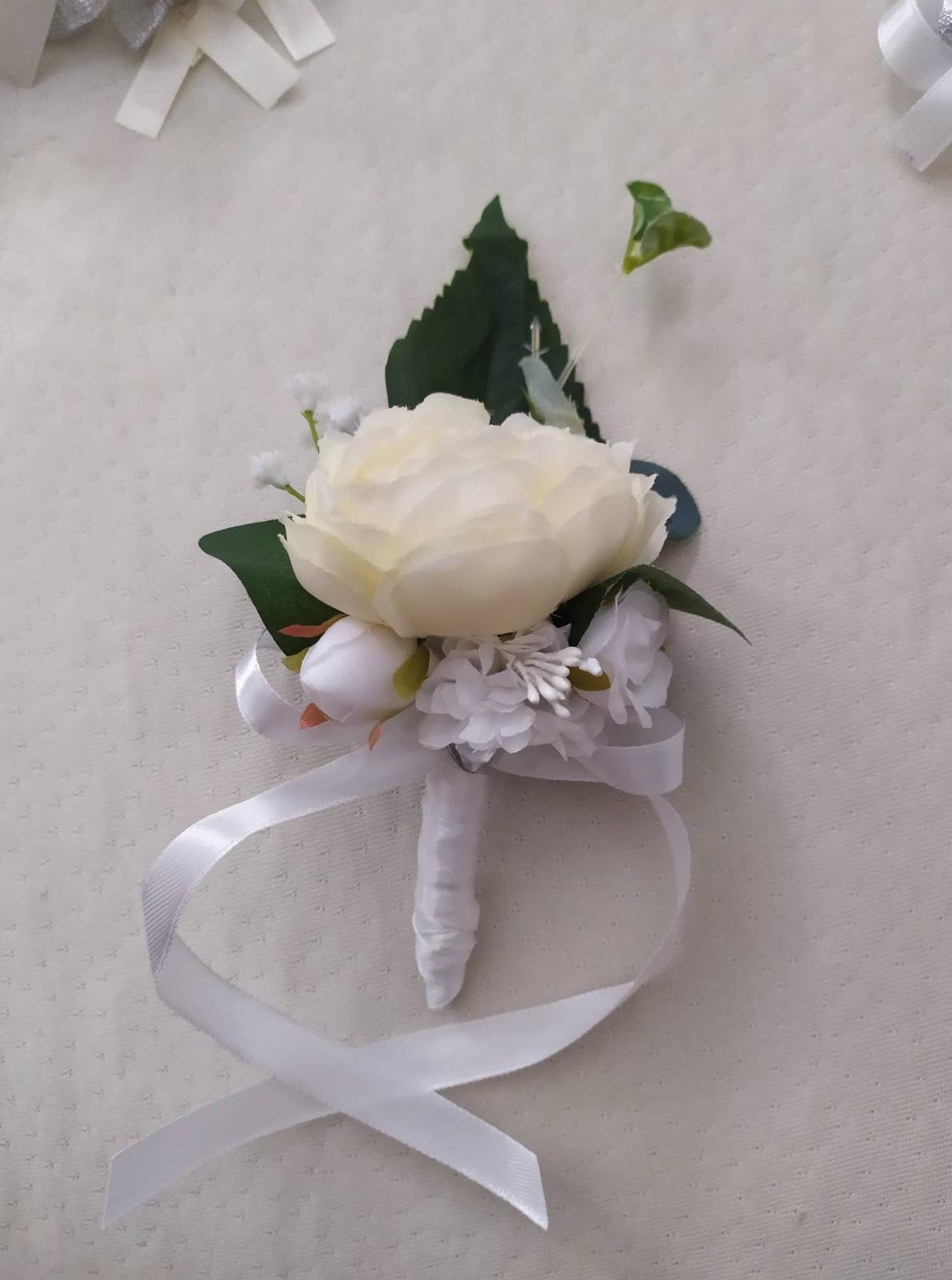 Set svadobných pierok - Obrázok č. 1