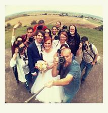 """Taka necakana """"session"""" fotografov na nasom foto mieste :) vznikli z toho isto krasne fotky, nevieme sa dockat :))"""
