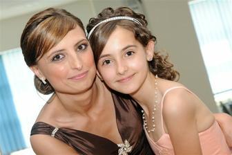 moja sestra s dcérkou