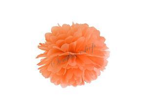 oranžové a meruňkové pompomy :) asi 50ks
