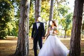 Svadobné korzetové šaty, 36