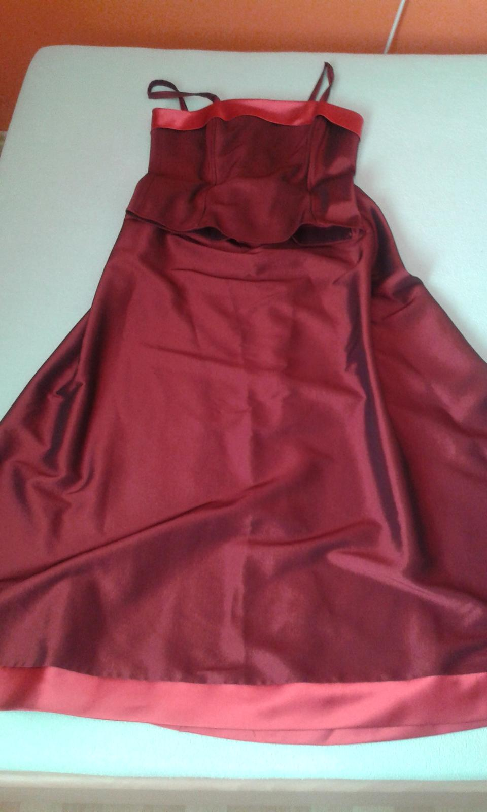Dlhé korzetové šaty - Obrázok č. 1