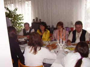 Svadobny obed u nevesty
