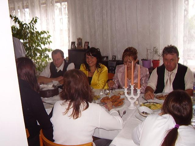 Diana Géciová{{_AND_}}Lukáš Hajdúch - Svadobny obed u nevesty