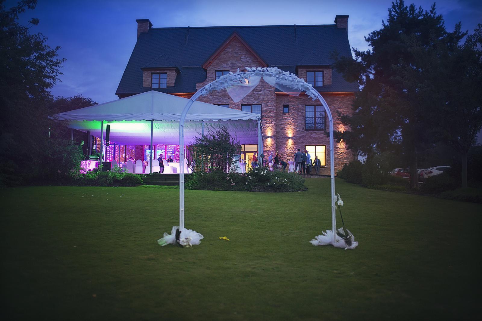 djfica - osvětlení na svatbu