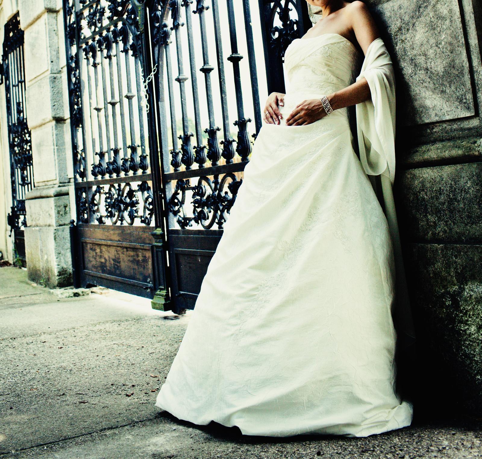 La sposa svadobne saty velkost M - Obrázok č. 2