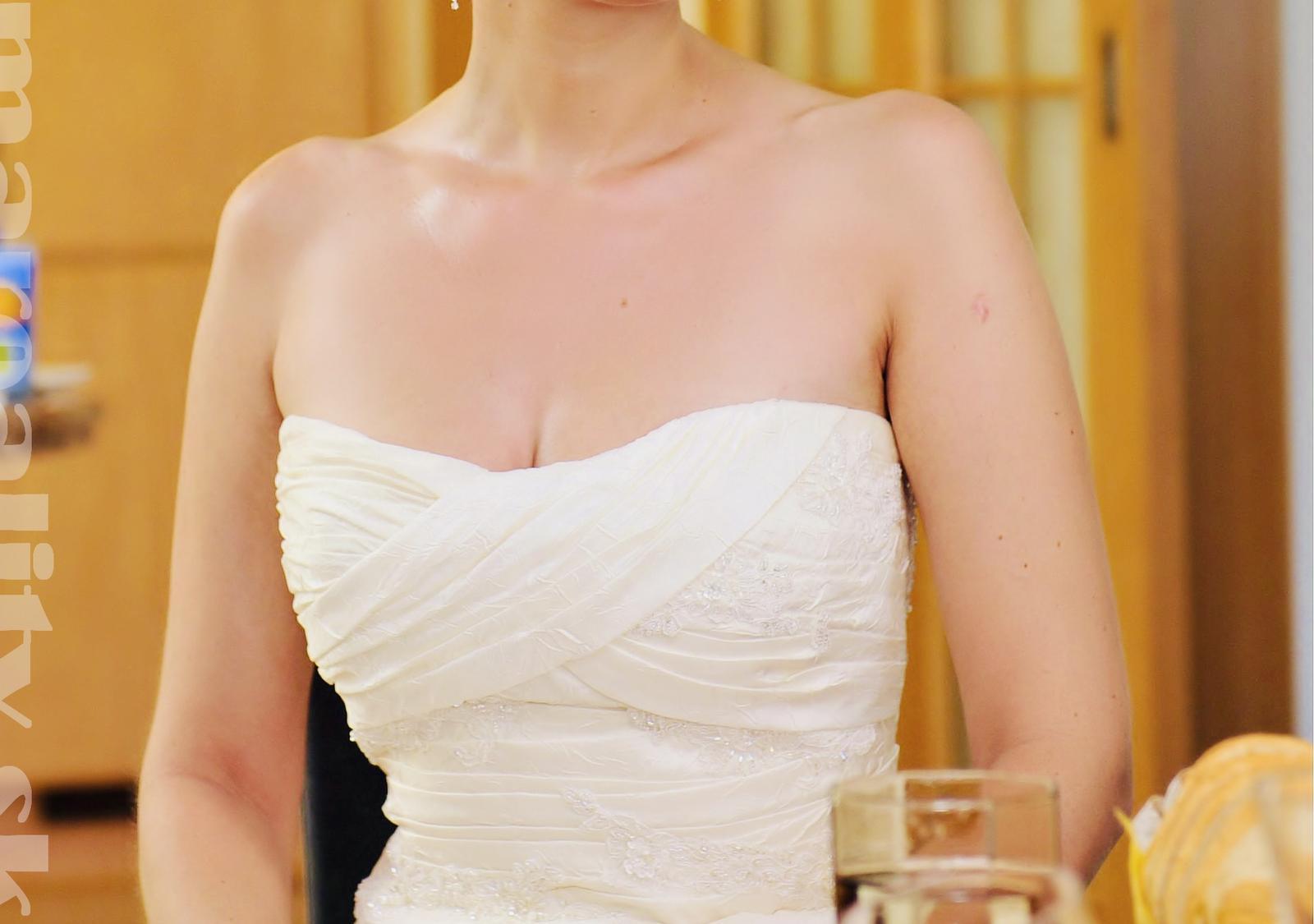 La sposa svadobne saty velkost M - Obrázok č. 4