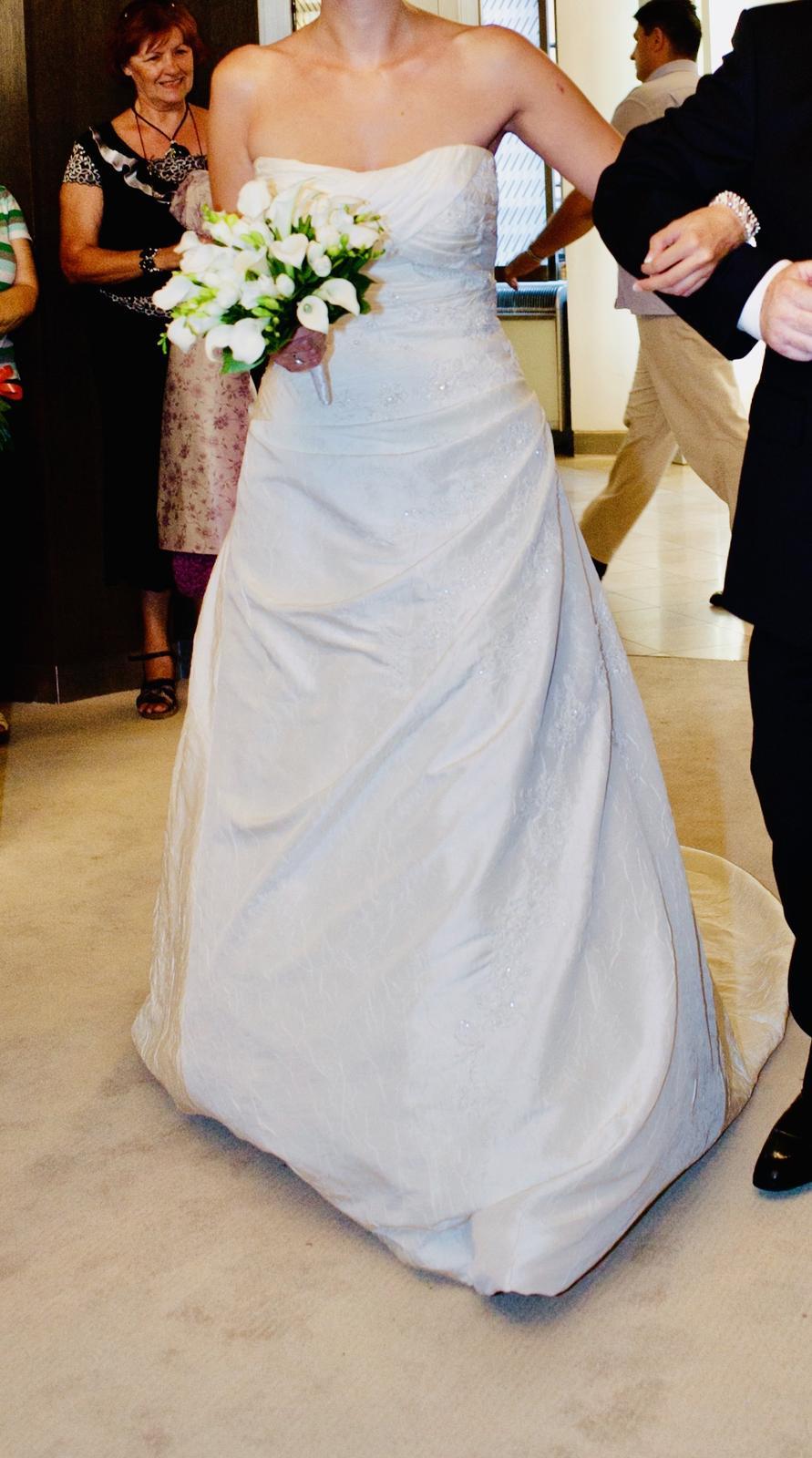 La sposa svadobne saty velkost M - Obrázok č. 3
