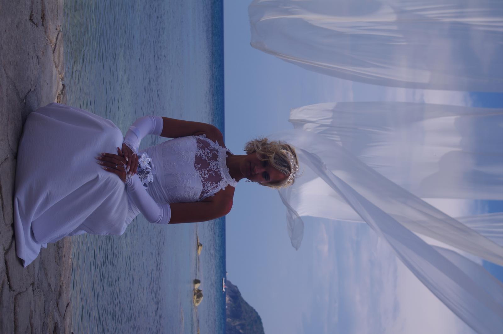 svatební šaty s krajkou - Obrázek č. 4