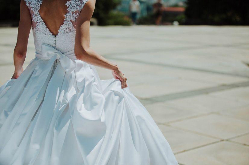 Svadobné šaty Agnes, veľ. 34-36 - Obrázok č. 1