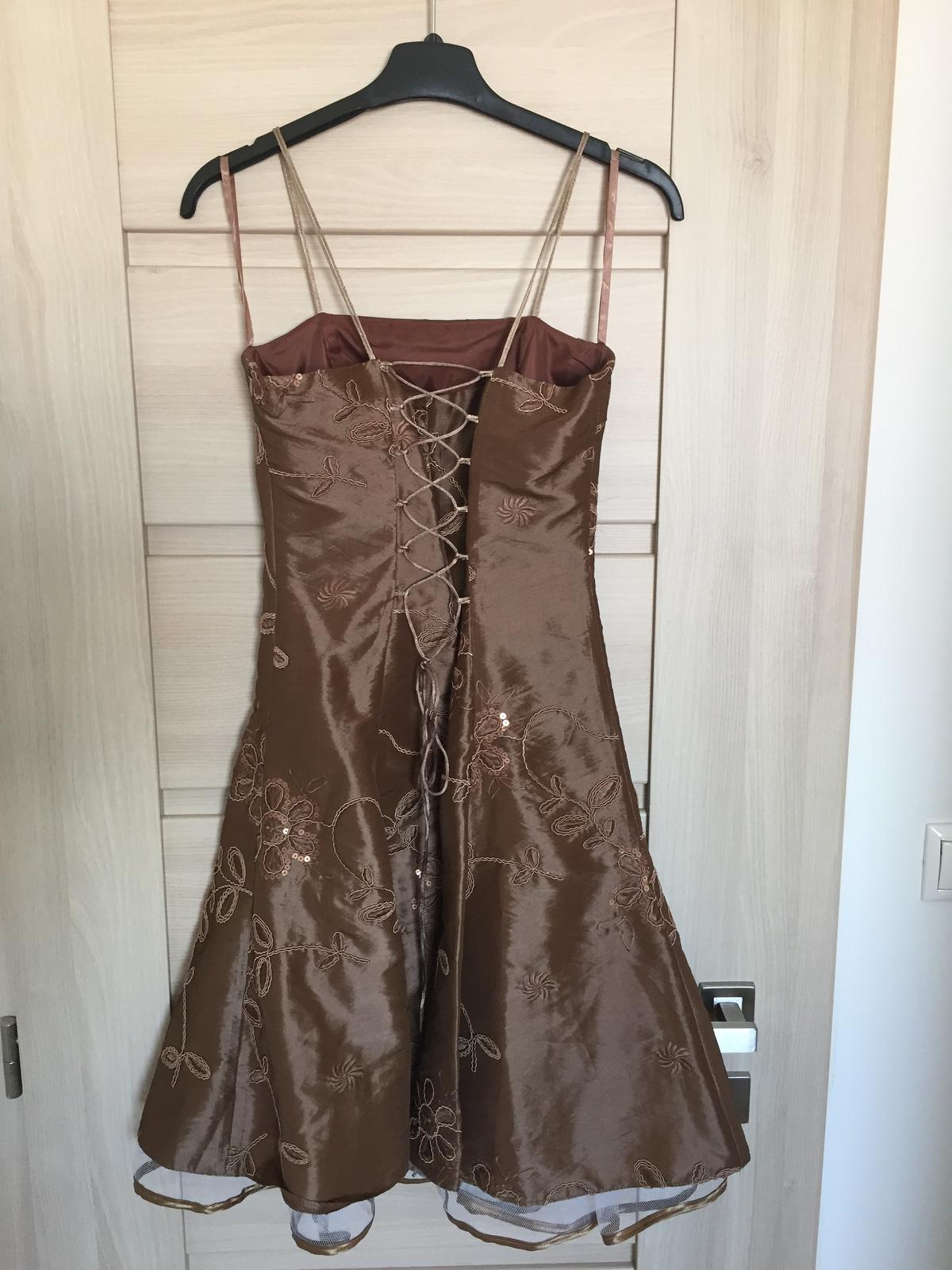 Spoločenské šaty s bolerkom, veľ. 36 - Obrázok č. 3