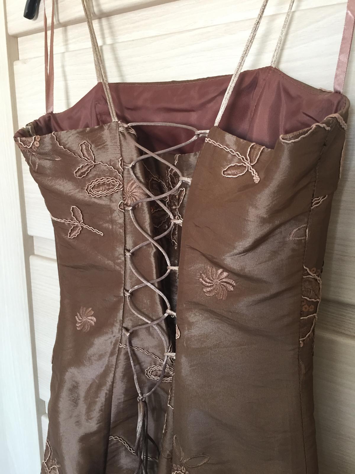 Spoločenské šaty s bolerkom, veľ. 36 - Obrázok č. 4
