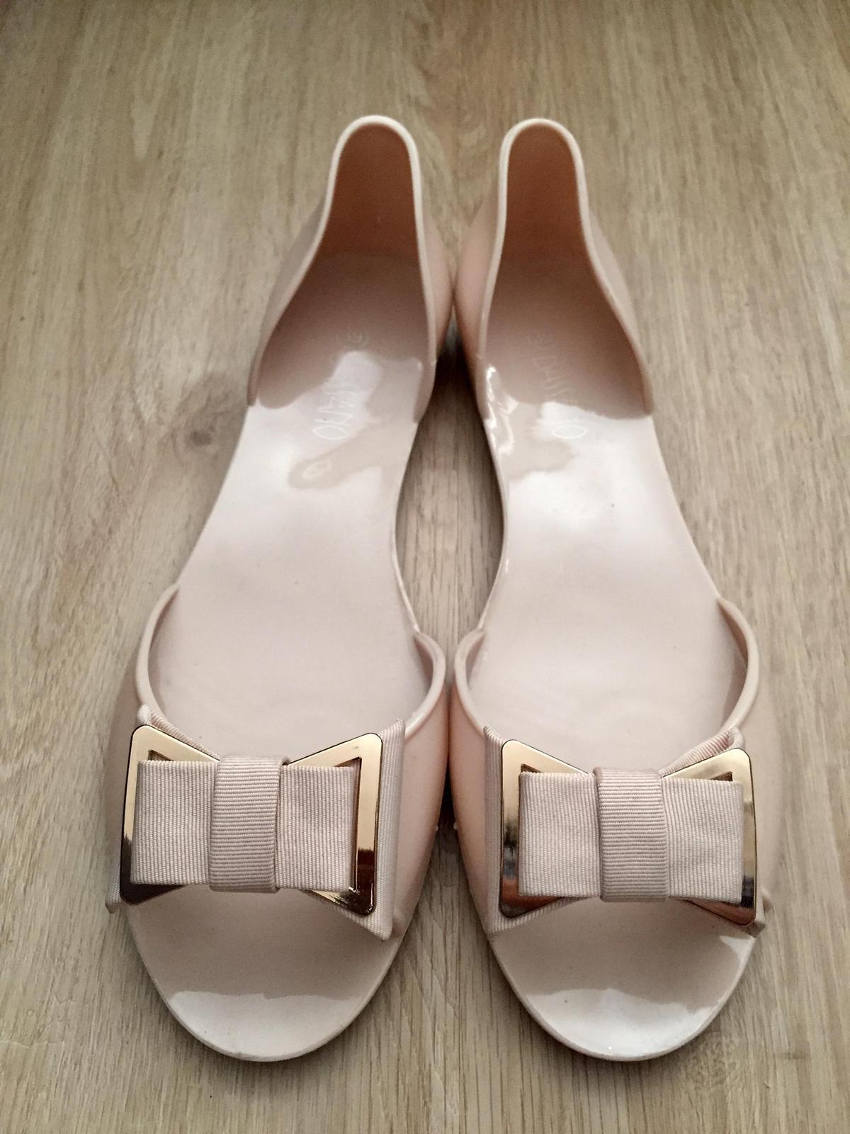 Sandále s otvorenou špičkou, 1x obuté - Obrázok č. 3