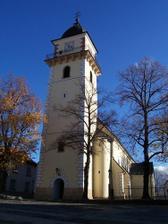 kostolik, kde budeme mat sobas..kostol sv.Martina v Bojniciach