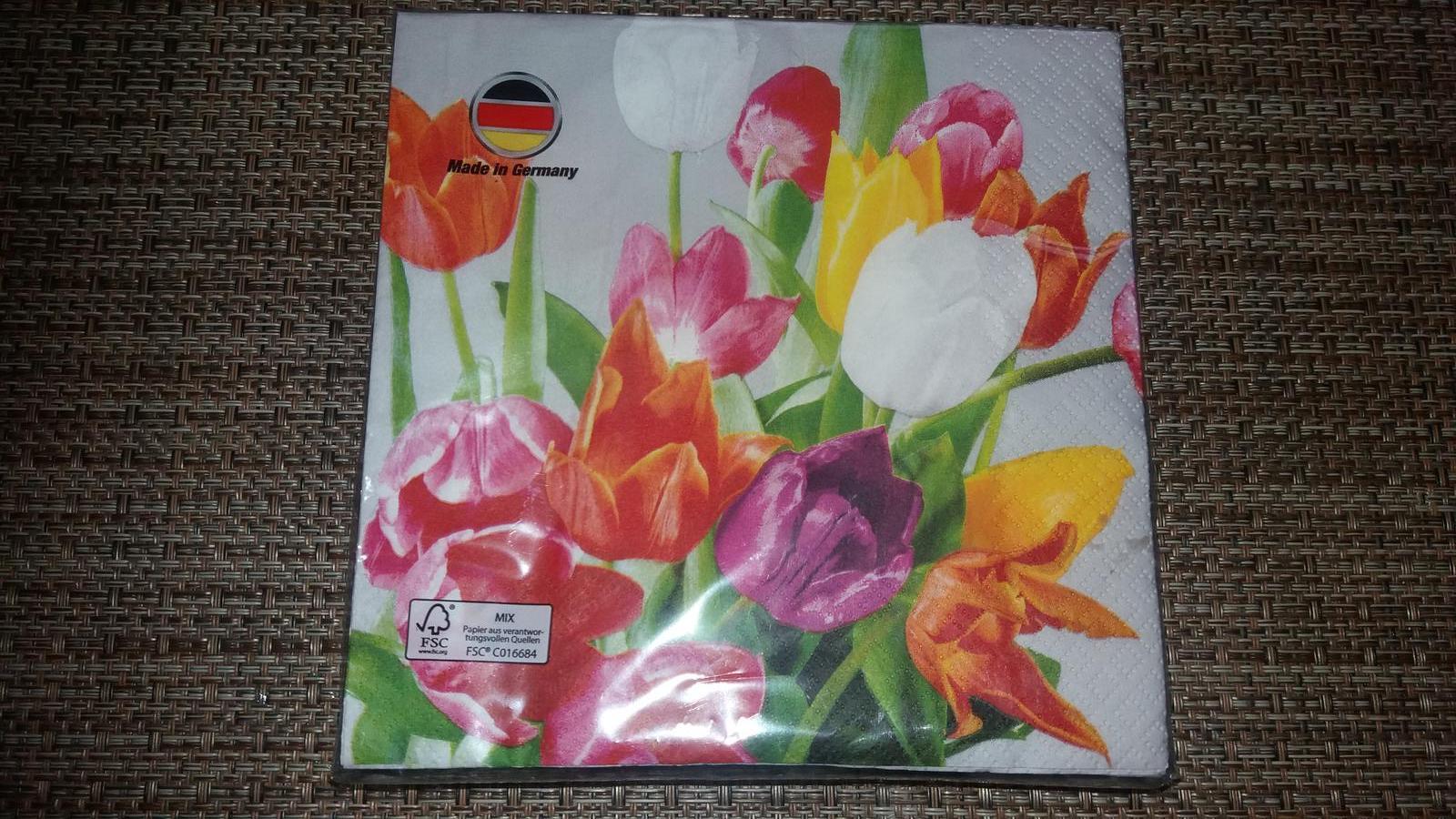 Rok 2017 u nás a po našem.... - Jarní-tulipánové
