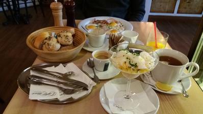 Když neděle,tak s pořádnou snídaní...☺