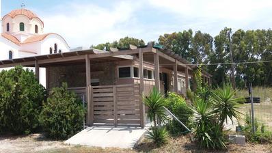 Dnes jsem objevila moji predstavu drevene pergoly pred domem v realu..