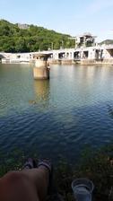 Tu naši rezavou potápku jsme dneska ani po 2 hod souvisleho plavani nemohli dostat z vody...