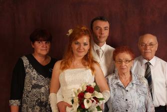 S mojou maminkou a Norbertovými rodičmi