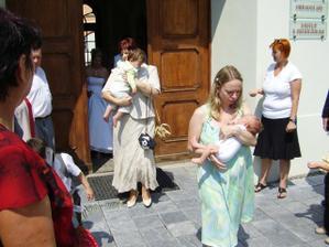 nejmladší svatebčané