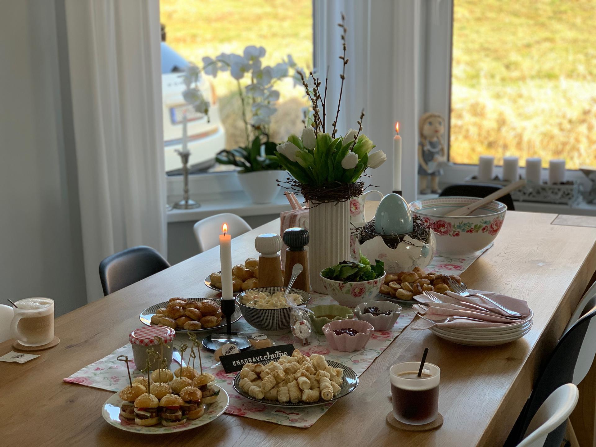 Začiatok 3. roku bývania vo vytúženom domčeku - Krásne veľkonočné sviatky všetkým 🙏❤️🐣🐰🌷