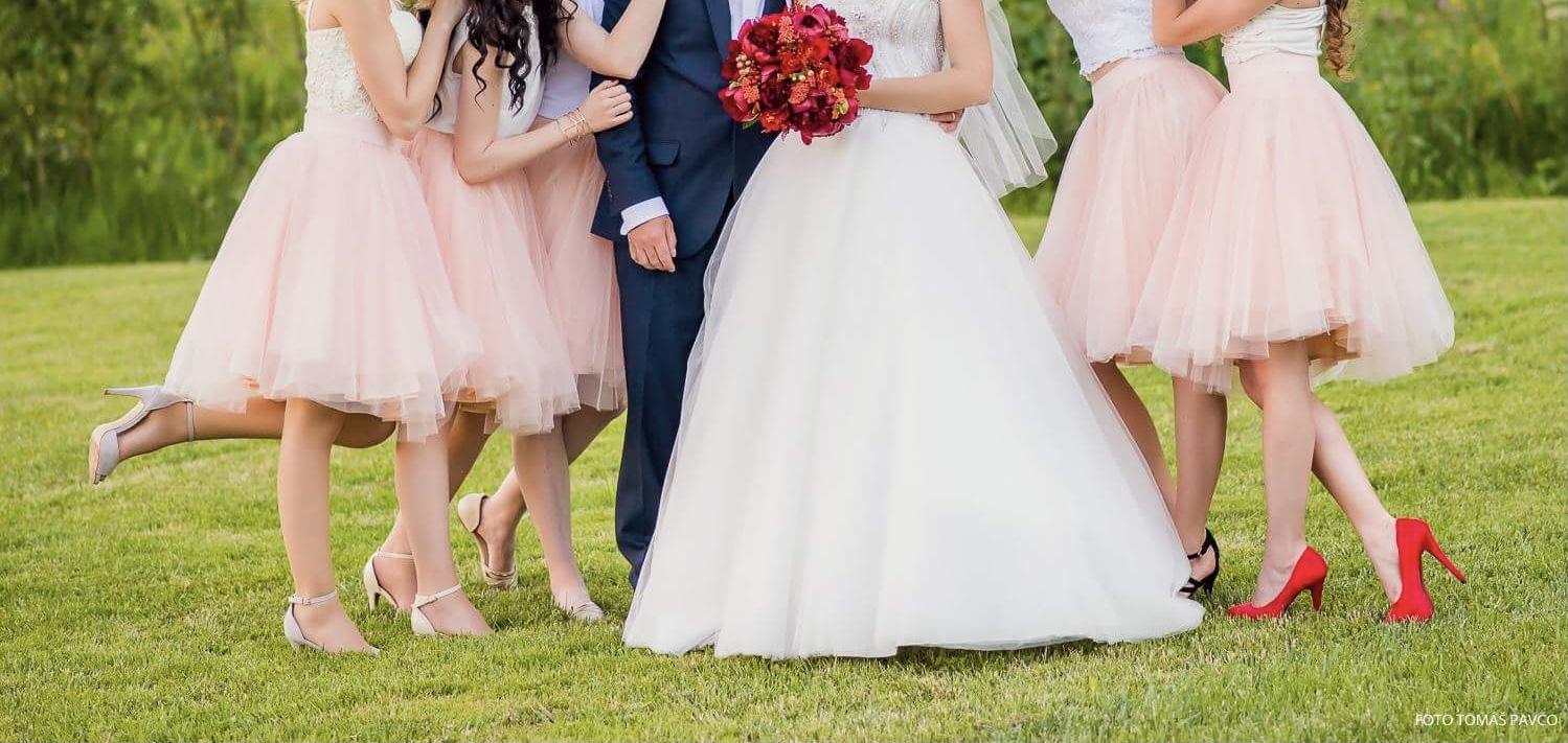 Pudrovo ružová tylová TUTU sukňa - Obrázok č. 1