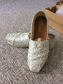 stříbrné loafers (Tomsky), 40