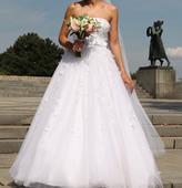 Svadobné šaty od Pronovias fashion group -La Sposa, 36