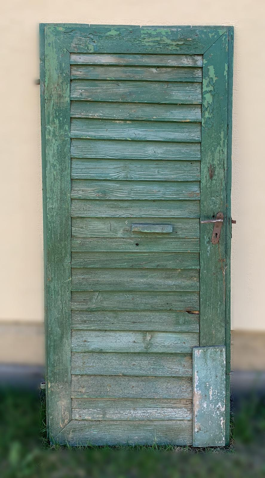 Starožitné dvere zelené - Obrázok č. 1