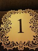 Číslovanie stolov 1-10,