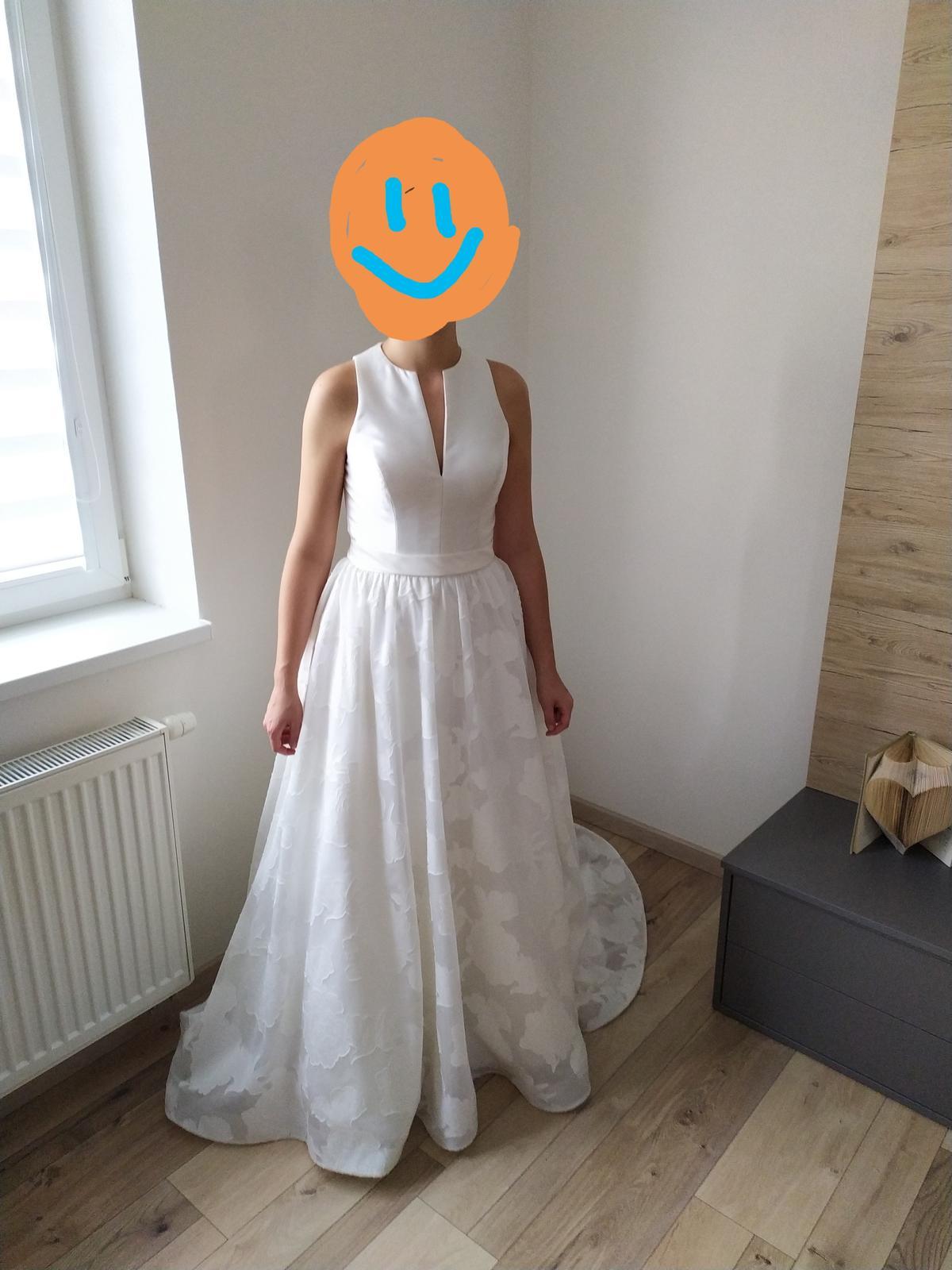 Svadobné šaty veľ. 36-38 - Obrázok č. 3