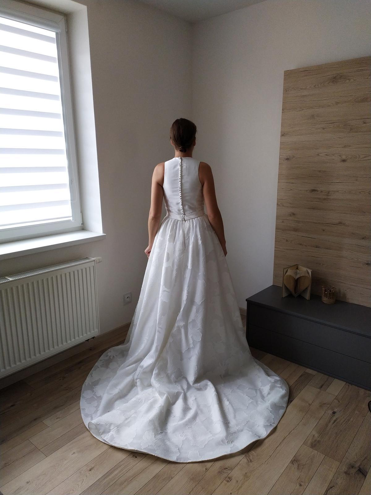 Svadobné šaty veľ. 36-38 - Obrázok č. 1
