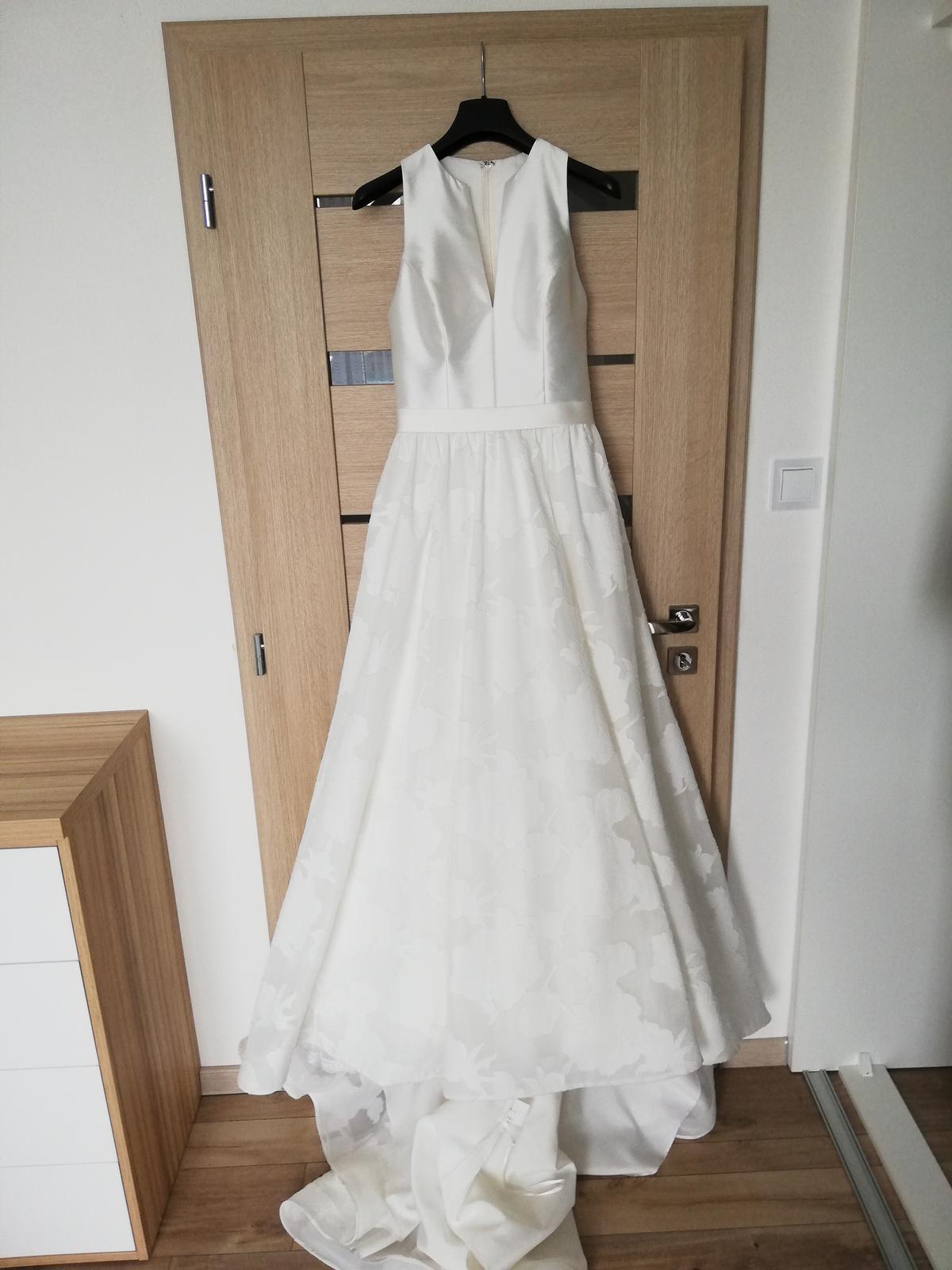Svadobné šaty veľ. 36-38 - Obrázok č. 2
