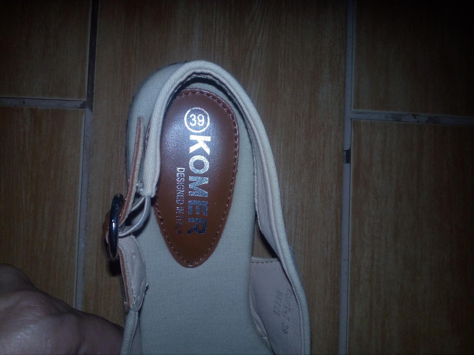 Dámske sandale - Obrázok č. 4