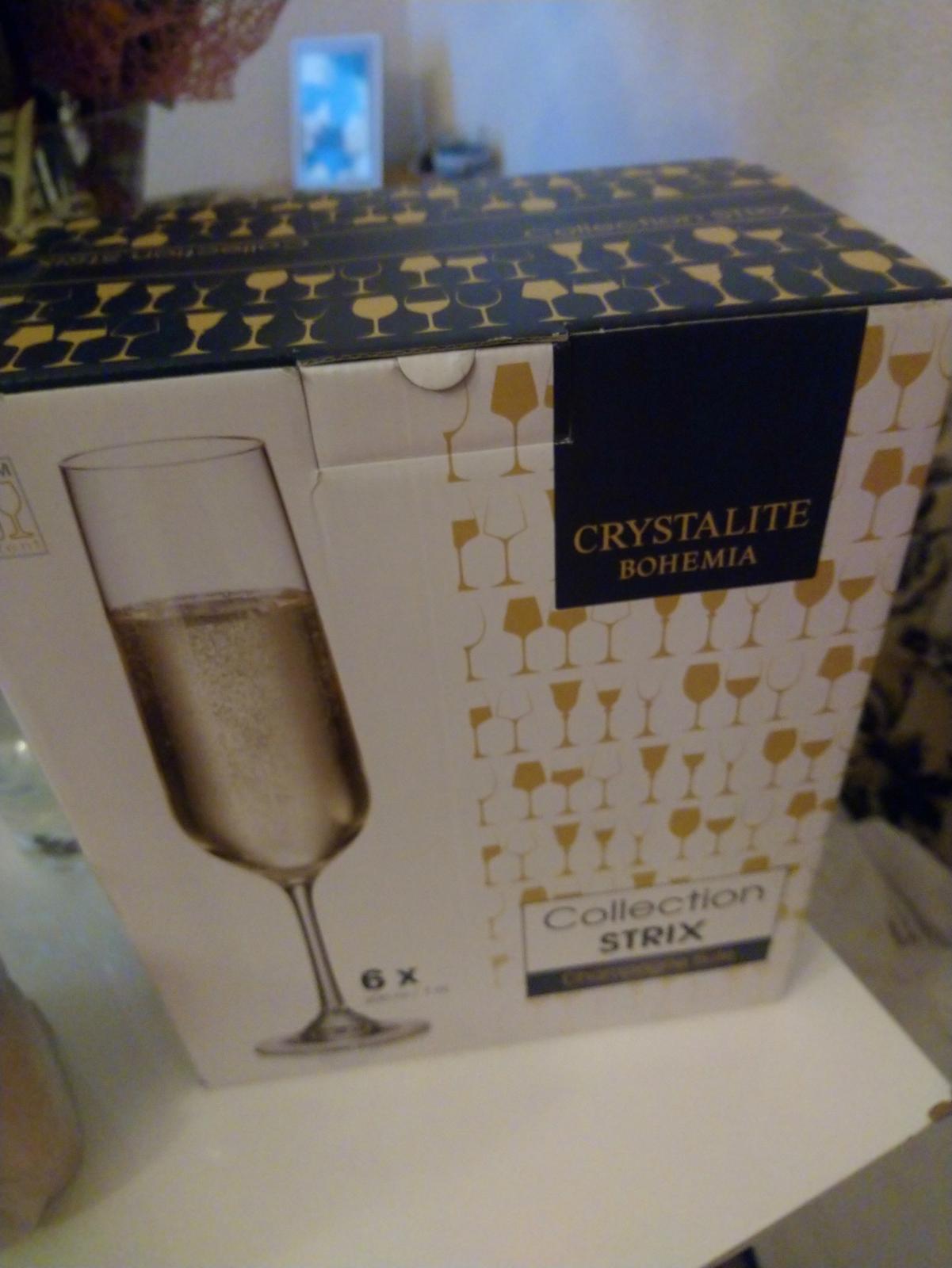 Sklenice na šampaňské  - Obrázek č. 2