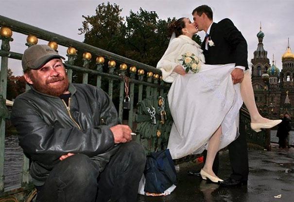 Svatební katastrofy - honzíku za tebou se líbají dva pošuci ale neboj ja pak tu fotku oříznu