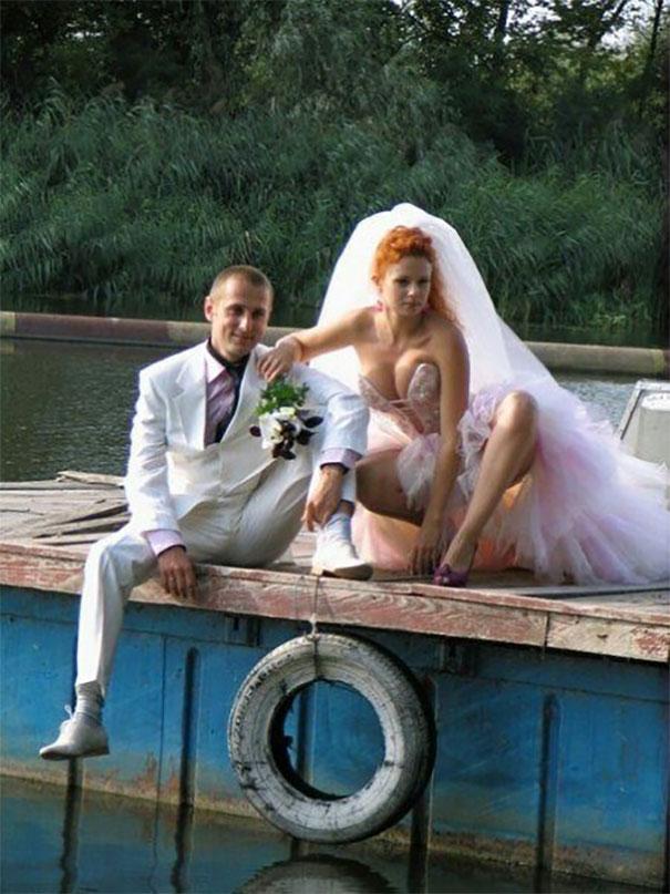 Svatební katastrofy - tvařte se přirozene