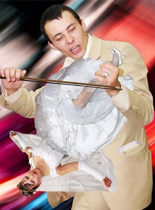 Svatební katastrofy - Marto nevrť se, pak hraju falešně jako prase