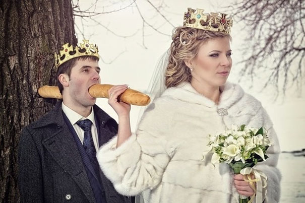 Svatební katastrofy - pane fotografe platíme vám hodně peněz tak koukejte vymyslet něco originálniho