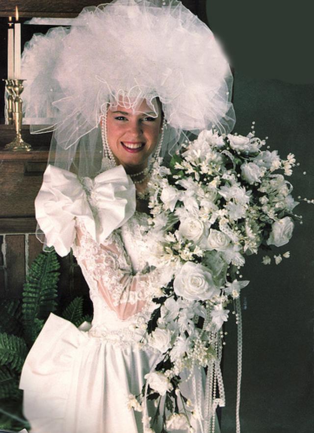 Svatební katastrofy - chtělo by to něčím oživit.. třeba náušnice