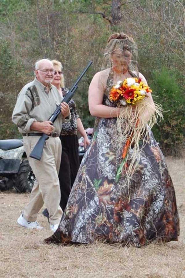 Svatební katastrofy - tradiční nevěsty jsou trapný