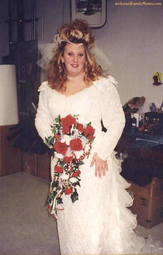 Svatební katastrofy - kadeřnice je škoda peněz