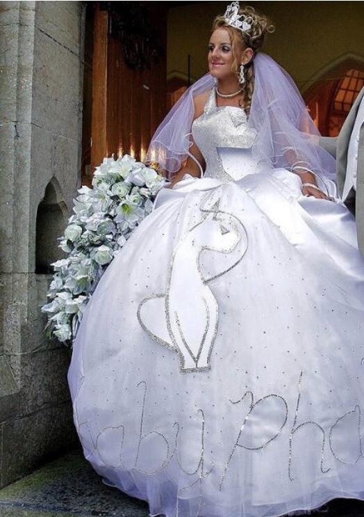 Svatební katastrofy - nebyl ten závoj už moc?
