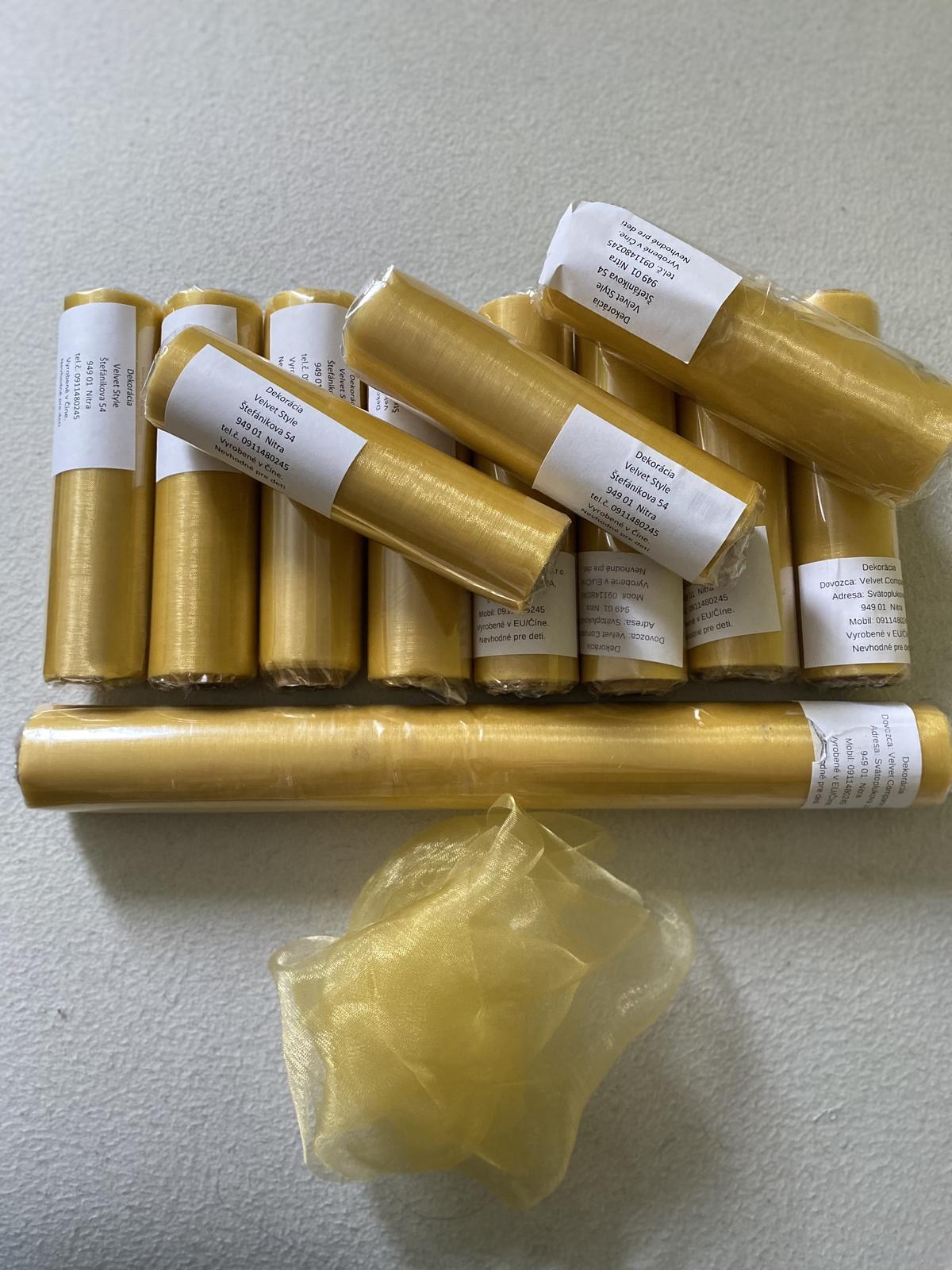 Zlatá organza - Obrázok č. 1