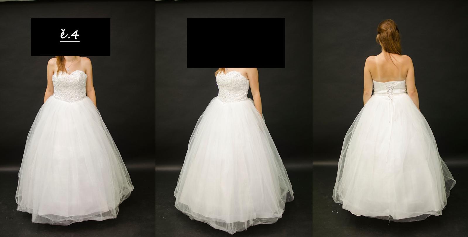 Svatební šaty se zdobením na korzetu - Obrázek č. 1
