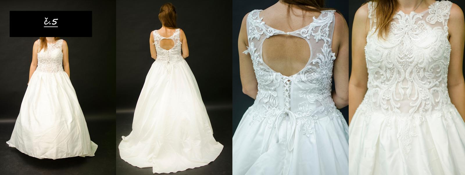 Svatební šaty XL - Obrázek č. 1
