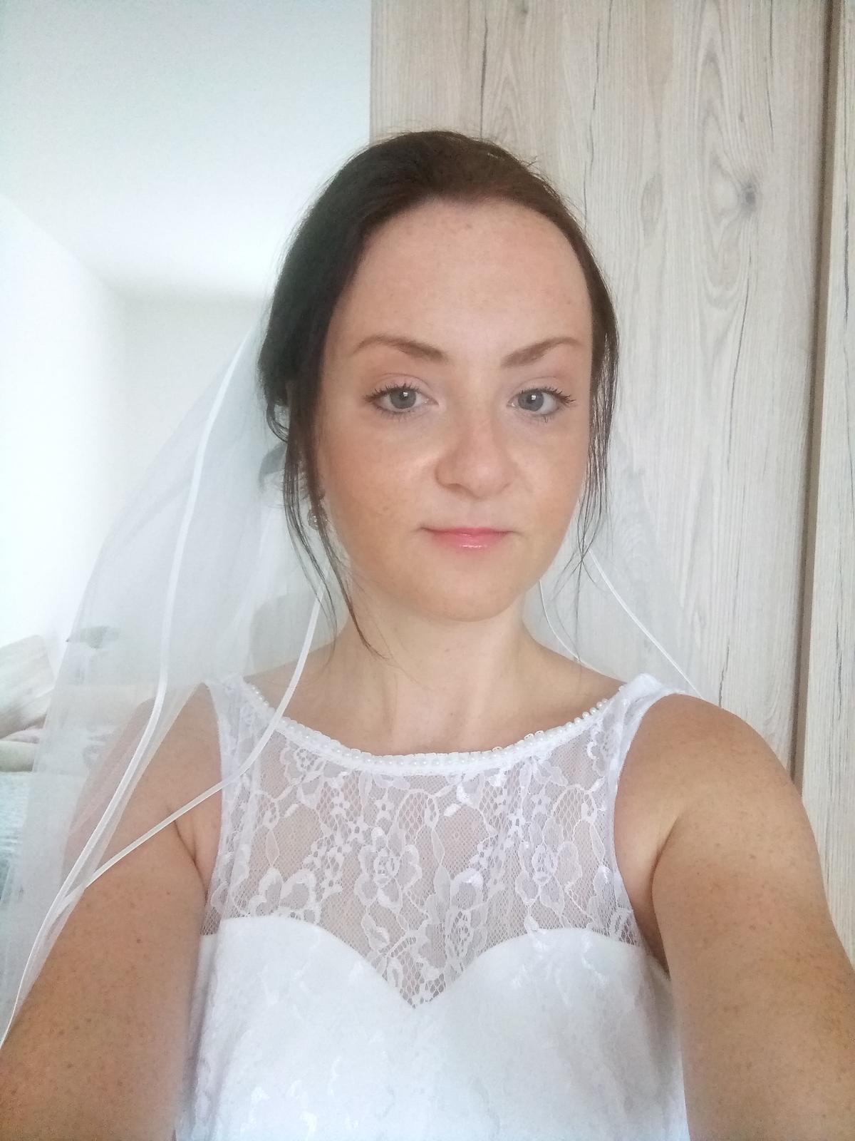 Svatební šaty, velikost 36. - Obrázek č. 1