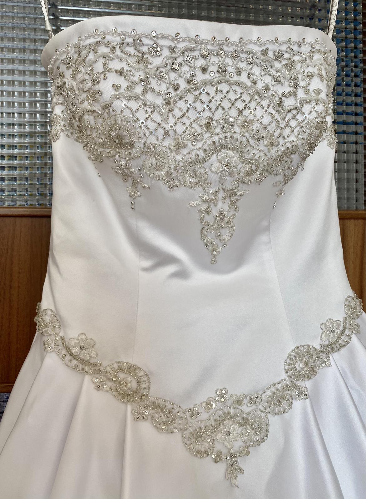 Svatební šaty - nové, bohatě zdobené - Obrázek č. 1