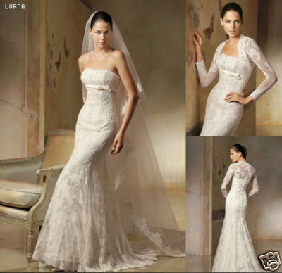 Sisi a Jakub - my wedding dress